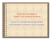 10. Discrete wavelength models characterization of human subspace - 2011