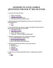 SAMPLE QUESTIONS WITH ANSWERS FOR EXAM 4, 2017(1).docx
