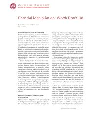 Case 8_Financial Manipulation Words Don_t Lie.pdf