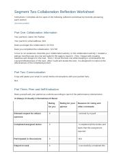 Segment Two Collaboration Reflection Worksheet.docx