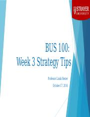 BUS 100 - Week 3 Strategy Session PPT.pptx
