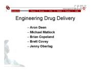 ENGINEERING DRUG DELIVERY-POWERPOINT