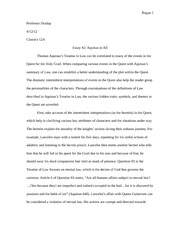Treatise In Law Essay