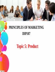Topic 5 product.ppt
