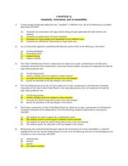Exam 4 - Ch. 11 answers