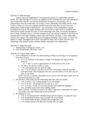 Genesis Sample Worksheet