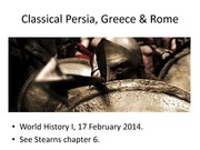 10. Classical Persia Greece Rome