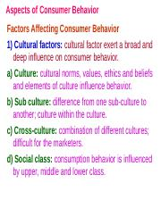 3. Aspects of Buyer Behavior.ppt