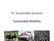 Lecture23 Sustainable Mobility for Industrial Ecology