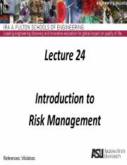 Lecture 24dm Intro to Risk Management.pdf