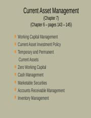 2_Current assets management