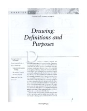 DRAWING DEFINITIONS AND PURPOSES