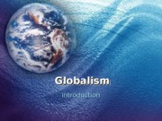 Globalism PPT