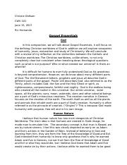 gospel essentials essay