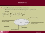 Lecture 11 momentum conservation