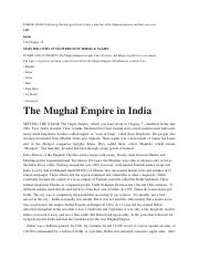 write a compare and contrast essay on the policies of akbar and aurangzeb