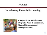 ACC100 Porter Chapter 8 - Lecture -Student Copy