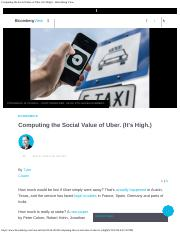 Computing the Social Value of Uber. (It's High.) - Bloomberg View.pdf