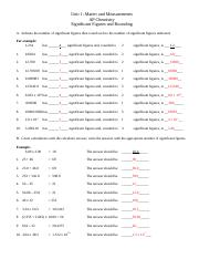 12 - significant figures and rounding key.doc - Unit 1 ...