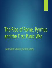 Lecture 18-The First Punic War (March 21)