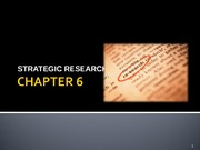 Strategic Research PPT