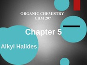 Chapter 5-alkyl halides
