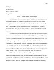 argumentative essay for success is counted sweetest.docx