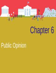Chapter 6 - Public Opinion.ppt