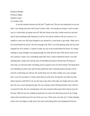 informative essay outline on reality tv katelynn murphy topic  7 pages english comp essay memoir