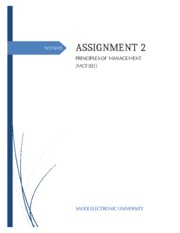 Assignment 2 MGT101 (F)-2