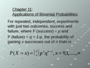 ch11applicationsofbinomialprobabilities