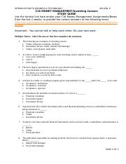 C16 Money Mgmt Invest Carers STUDY GUIDE.docx