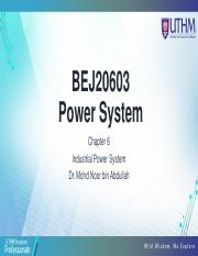 CHAPTER 6 Industrial Power System.pdf