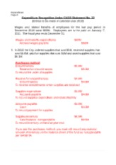 Expenditure Exercise Solution (1)