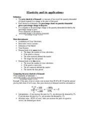 Sept 24 LEC Elasticity and its applications