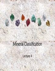 Lecture+4+Mineral+Classification