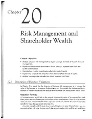 chap 3 risk and insurance Study principles of risk management and insurance - chapter 3 flashcards taken  from chapter 3 of the book principles of risk management and insurance.