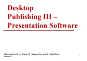 7.Desktop.Publishing.III.Presentation.Software