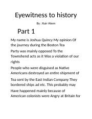 Eyewitness to history.docx