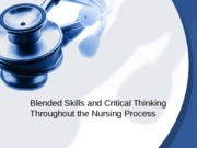 Blended Skills and Critical Thinking