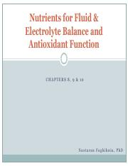 Lecture 9 Nutritents in Fluid, Electrolyte & Antioxidant Function.pdf