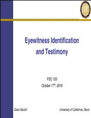 10-17+Eyewitness+Testimony