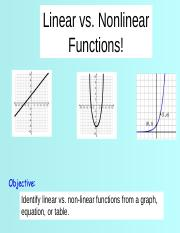 POWERPOINT_Linear_or_Nonlinear_Function.ppt