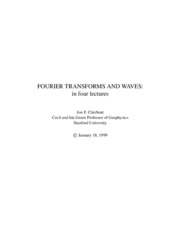 Mathematics - Fourier Transforms And Waves