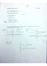 Differential equations & sketching