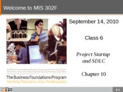 F10-Class-06-Project Startup and SDLC