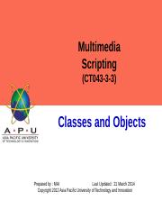 3-Classes and Objects