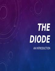 THE DIODE.pptx