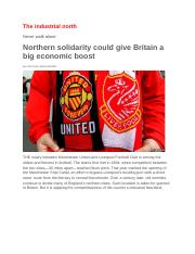 Northern solidarity could give Britain a big economic boost_503901249