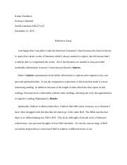 wgu c introduction to humanities western governors 3 pages reflective essay docx